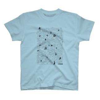 やるきないもの大集合(画材) T-shirts