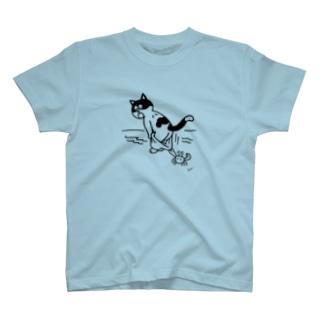 ねこのパンツ T-shirts