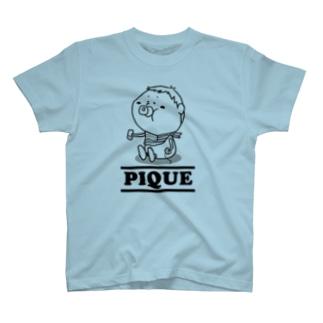 ぴけにゃんバブバブ T-shirts