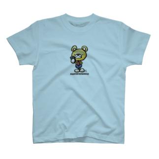 微調クマとうさく T-shirts