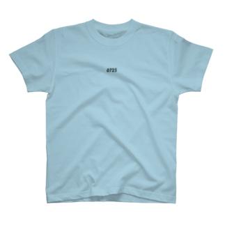 生年月日 _ dark T-shirts