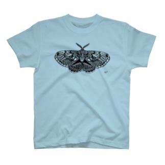イボタガ ファッション T-shirts