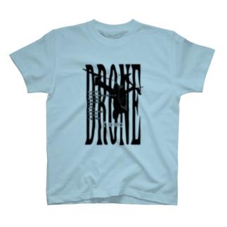 ドローンの法規制も心得てるなり T-shirts