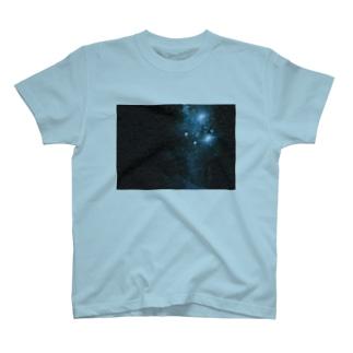 青の煌めき T-shirts