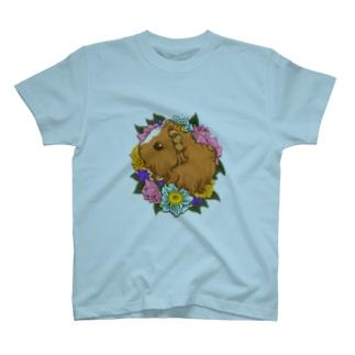 ベビーモルモット02 T-shirts