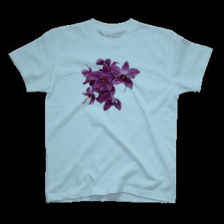 mitoTのmitoki_ART・花 T-shirts