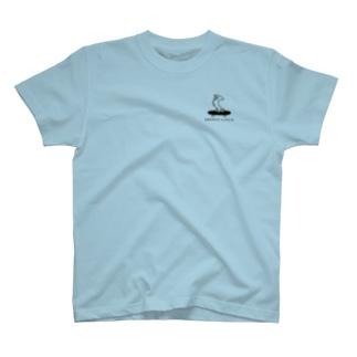 【ブランド立ち上げ記念SALE】GRITWEAL Logo ライトブルー T-shirts