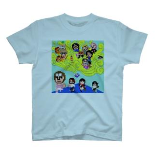 魔法少女犬子と幸子 ジャケ写1 T-shirts