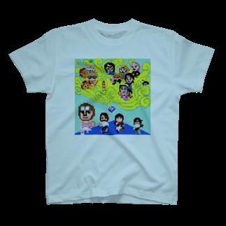 マニマニの魔法少女犬子と幸子 ジャケ写1 T-shirts