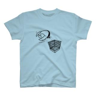 小屋上からのラ ケブラーダ T-shirts