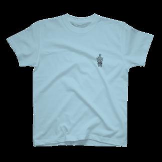 あとりえ441のくまth T-shirts