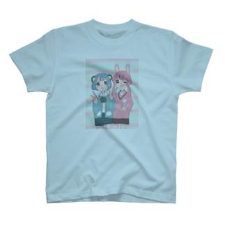 ゆめかわいうさくまJK T-shirts