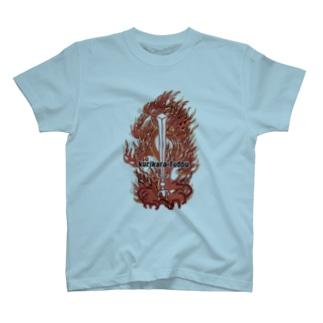 倶利伽羅不動カラー T-shirts