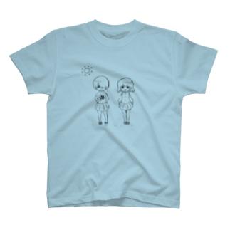 ぽちゃ真珠ちゃん(太陽) T-shirts