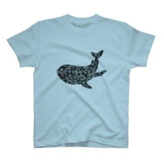 鯨 T-shirts