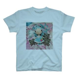 あみぐるみラゼル&にゃんズ T-shirts