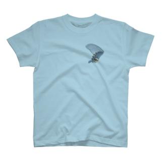 黒揚羽の翅 T-shirts