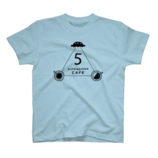 5次元カフェ(D)bk T-shirts