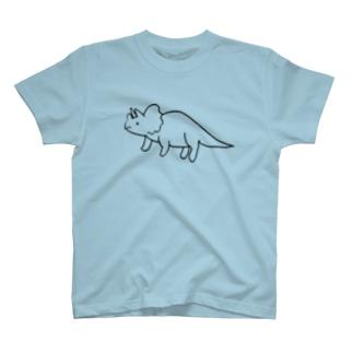 小坂画伯のトリケラトプス T-shirts