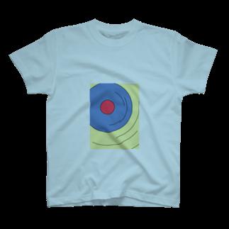 KOLOKOLOの波紋Tシャツ T-shirts