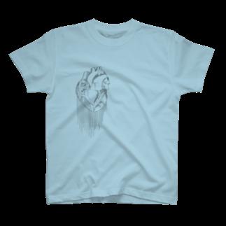 かつまた ゆいの心臓が痛い T-shirts