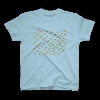 Danke Shoot Coffeeのガーベラ T-shirts