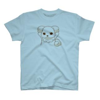 いぬはぴ(ロゴなし) T-shirts