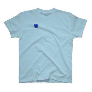 グローブ 青 T-shirts
