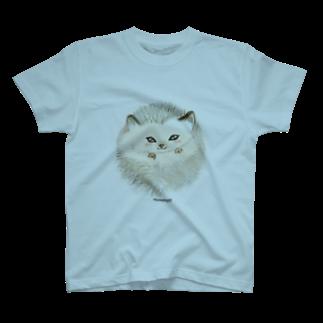 lattecoのはりねずみさん T-shirts