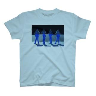 再現CGピラミッドス T-shirts