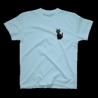 PSYCHの黒猫 T-shirts