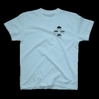 虫とか屋の虫たち 前後 T-shirts