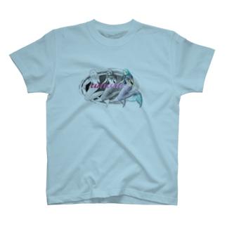 アマビエ(美女バージョン) T-shirts