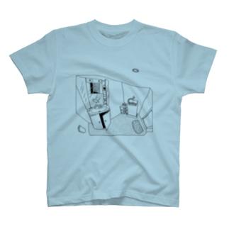 かもめD-Tシャツ T-shirts