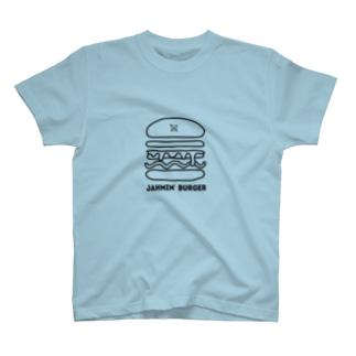 Jahmin' Burger logo T-shirts