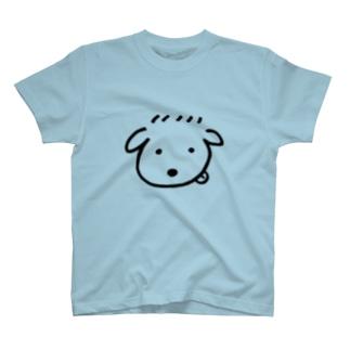 ゆるごる シンプル黒ver. T-shirts