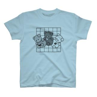モノトンくまころりん T-shirts