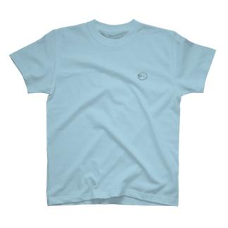 もぐら_無色ver T-shirts