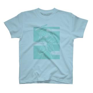 祈りを華を-形 T-shirts