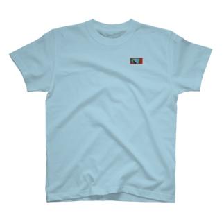 花束 柄④ T-shirts