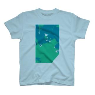 ローテク・コールドカラー T-shirts