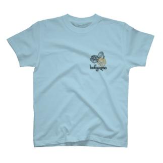 はじっこヒンカリ(白ラインへの変更アリ) T-shirts
