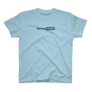 マイナスドライバー T-shirts