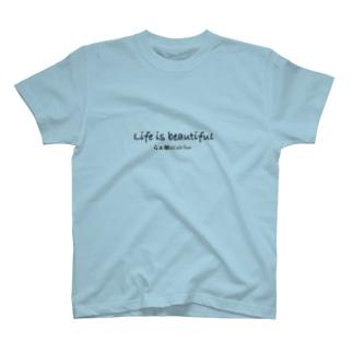Lifeisbeautifulオリジナルシリーズ T-shirts
