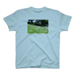 鴨川のお花 T-shirts