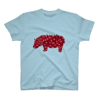 NEZUMIZARU STUDIO SHOPのカバ T-shirts