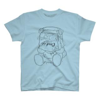 crazy/bear(black) T-shirts