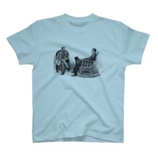 ホームズとワトソンTシャツ T-shirts