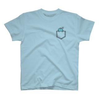 わたあめフェイクポケットT T-shirts