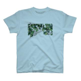夢の蛇(しろへび) T-shirts